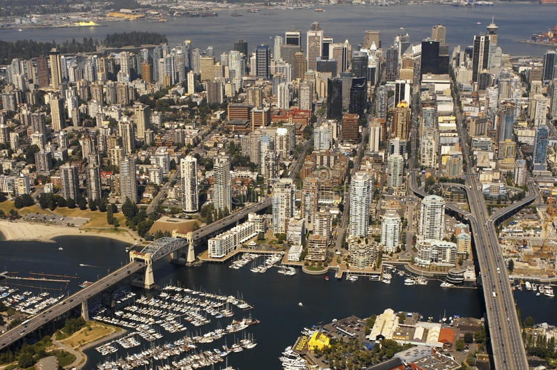 Download Vancouver In British Columbia - Canada Stock Photo - Image: 15006046