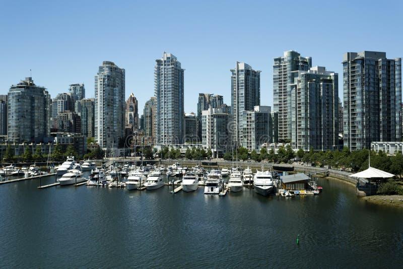 Vancouver British Columbia Canada stock photography