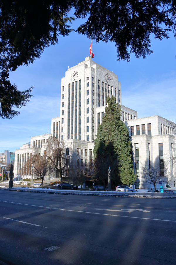 Download Vancouver, British Columbia City Hall Stock Photo - Image: 83722548