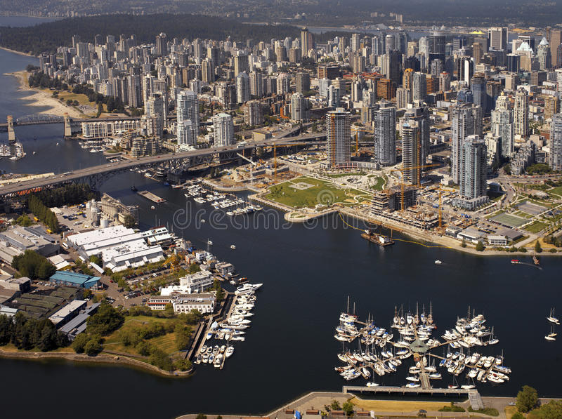 Vancouver in Brits Colombia - Canada stock foto's