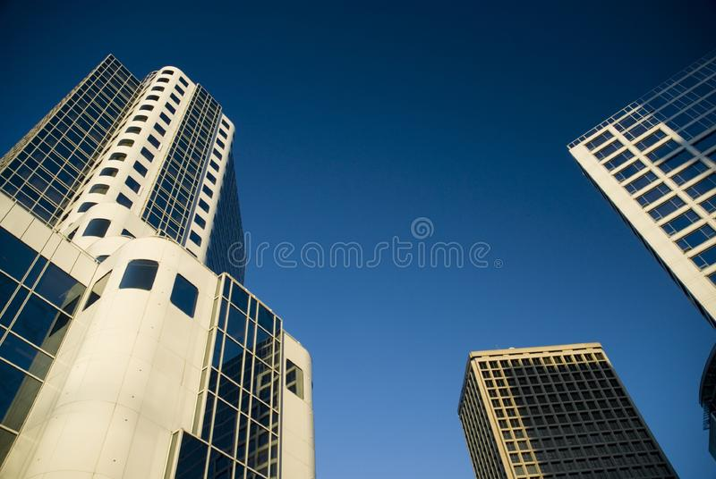 Vancouver Buildings royalty free stock image