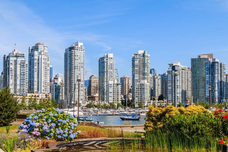 Vancouver céntrica fotos de archivo libres de regalías