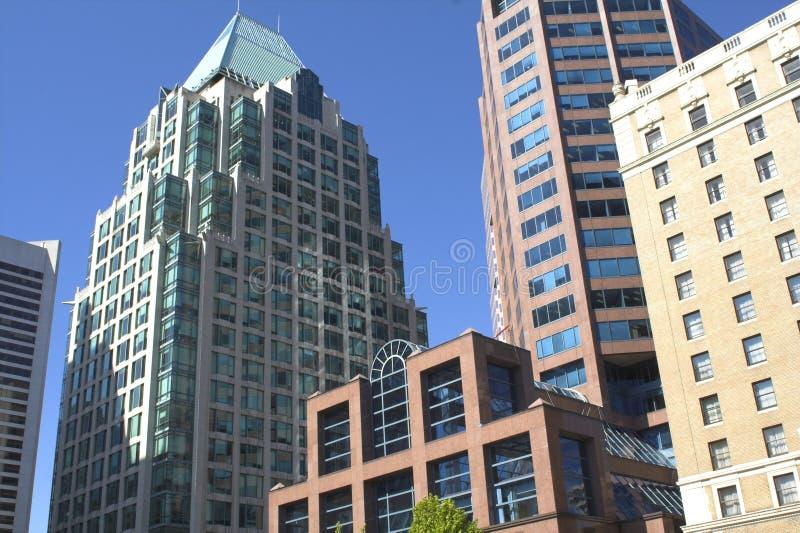 Vancouver céntrica fotografía de archivo