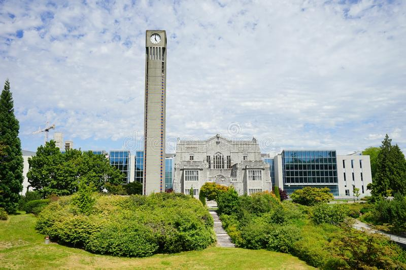 University of British Columbia UBC. VANCOUVER, CA -Located on a beautiful peninsula at Point Grey, the University of British Columbia UBC is a major public stock photos