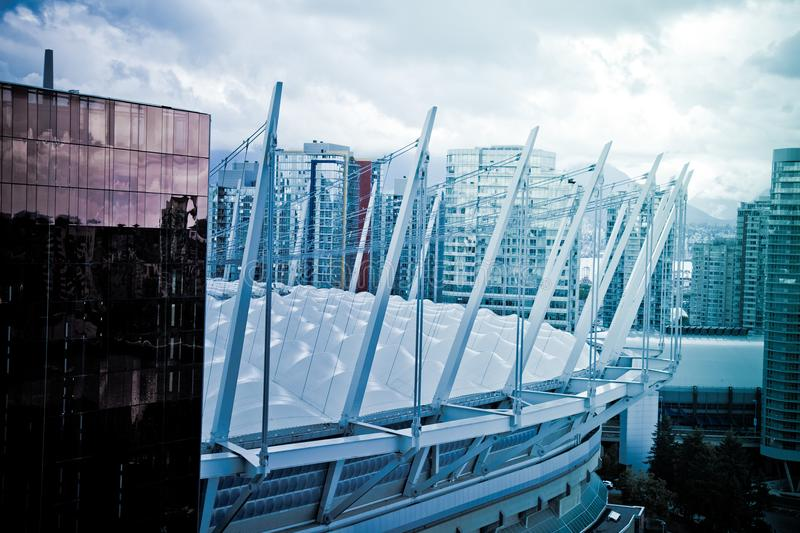 Vancouver Canada BC Place stadium Sept 2017 stock image