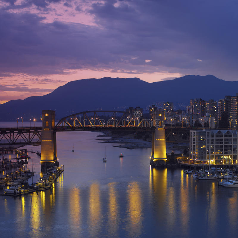 Download Vancouver - Canada stock photo. Image of dusk, creek - 32830706