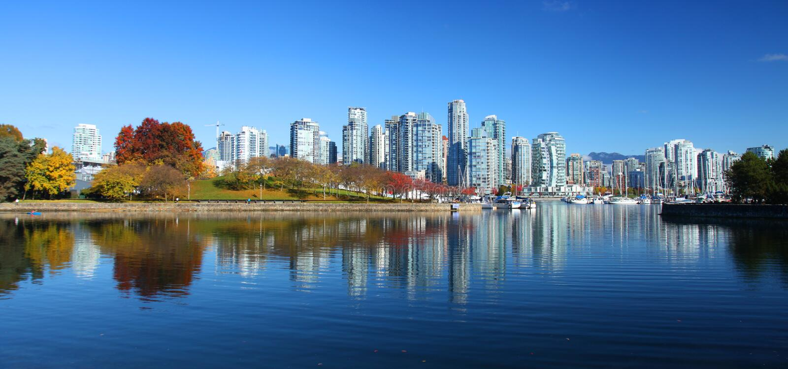 Vancouver in Canada royalty free stock photography