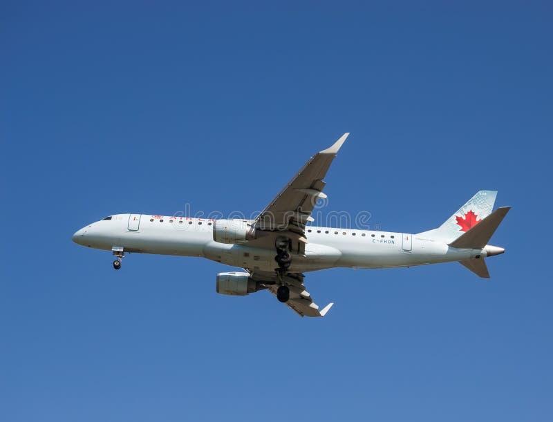Avions d'Air Canada image libre de droits