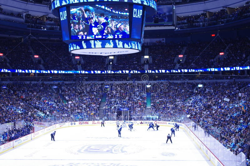 Vancouver Canucks royalty free stock photography