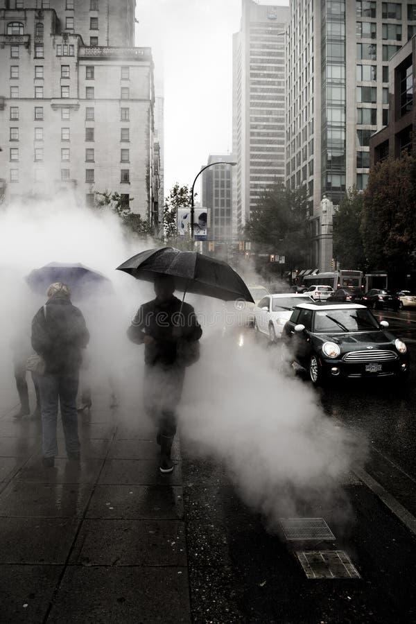 Vancouver chaud et humide photos libres de droits