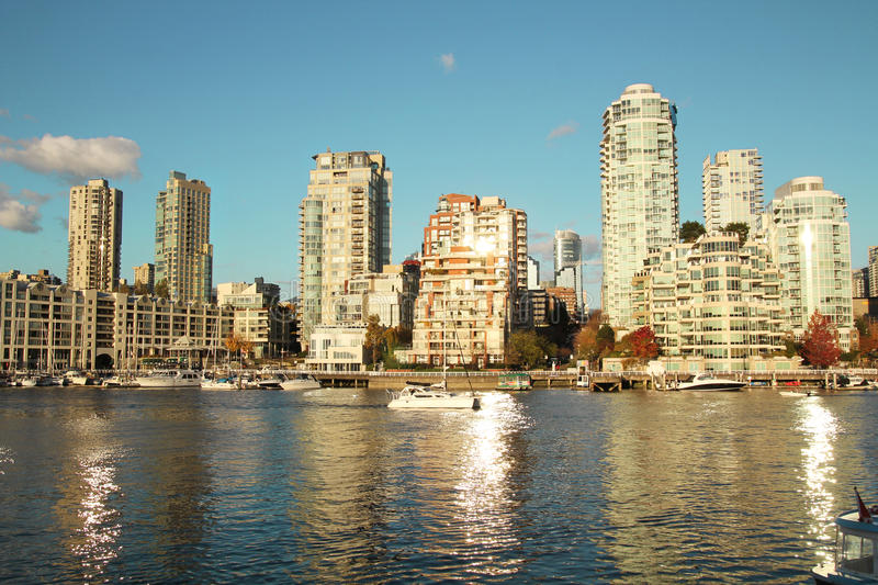 Download Vancouver city stock image. Image of sunny, landscape - 27749253