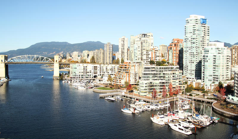 Vancouver City Royalty Free Stock Photography
