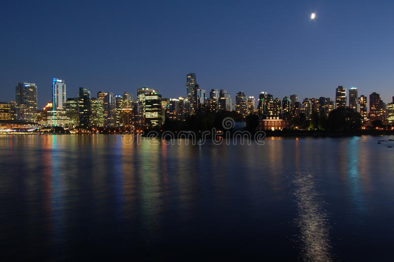 Vancouver Cityscape royalty free stock images