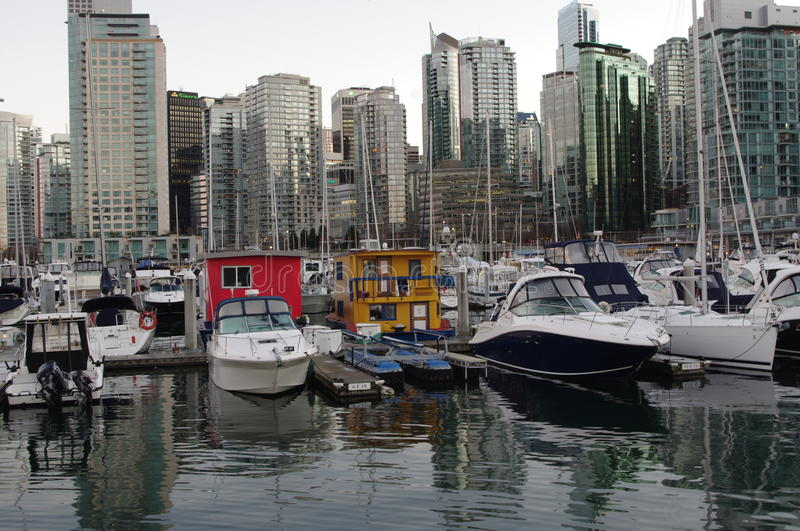 Download Vancouver coal harbour editorial stock photo. Image of harbour - 33266953