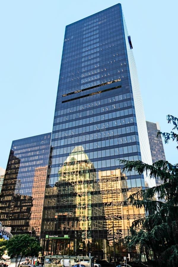 VANCOUVER, COLUMBIA BRITANNICA /CANADA - 14 AGOSTO: Fiducia b del Canada immagine stock