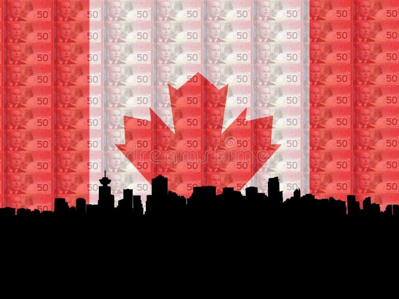 Download Vancouver Con Valuta Della Bandierina Illustrazione di Stock - Illustrazione di grattacielo, contanti: 3143139