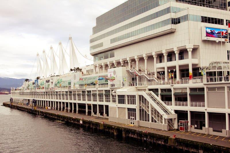 Vancouver Convention Center, Vancouver, BC fotografia stock libera da diritti