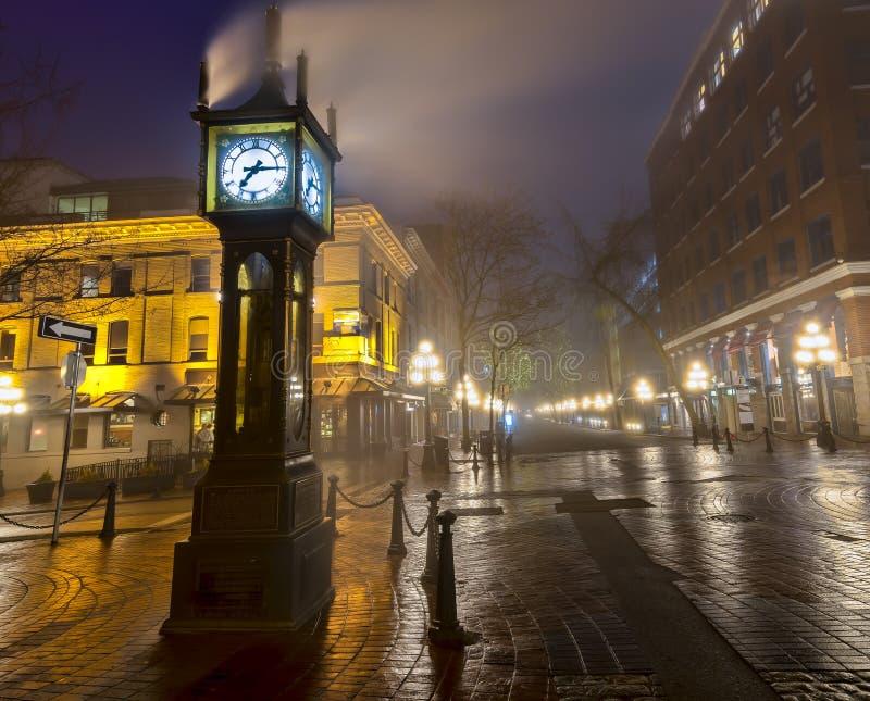 Vancouver-Dampf-Uhr lizenzfreie stockbilder