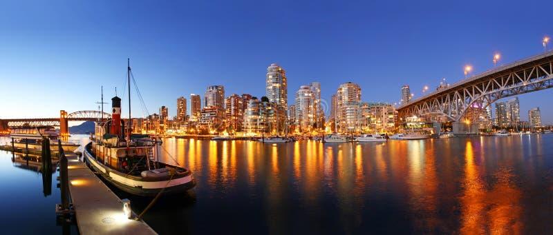 Vancouver dans le Canada image libre de droits
