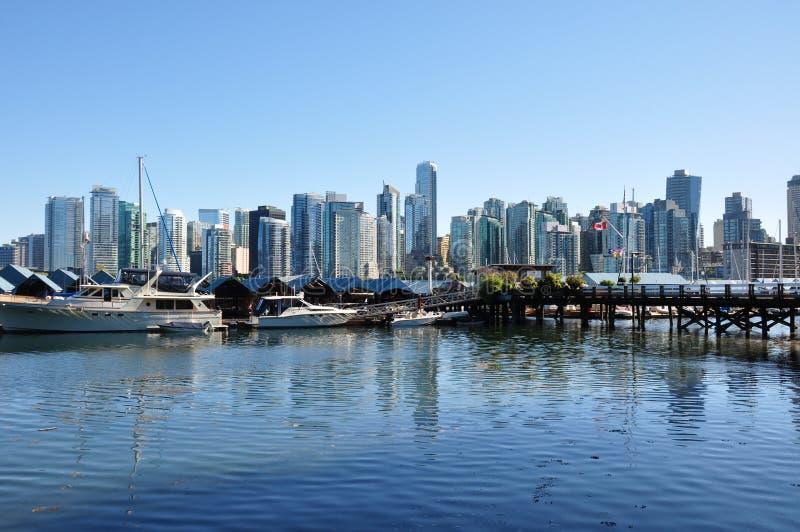 Vancouver del centro, Columbia Britannica, Canada immagini stock