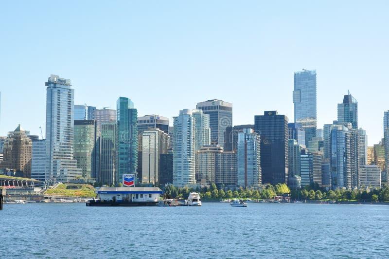 Vancouver del centro, Columbia Britannica, Canada fotografia stock libera da diritti