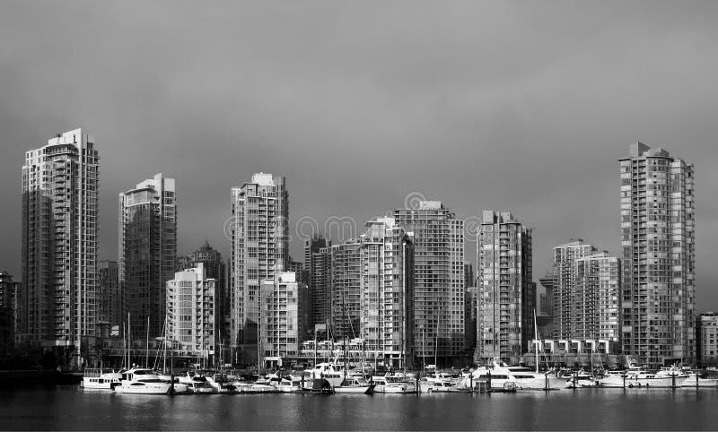 Vancouver dok obrazy stock