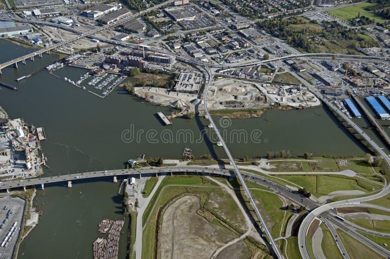 Vancouver e Richmond fotografie stock libere da diritti