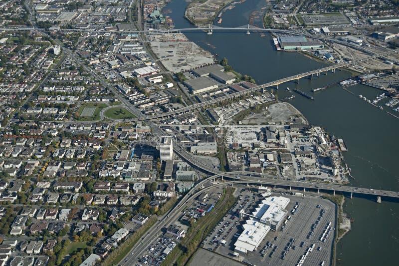Vancouver e Richmond fotografia stock libera da diritti
