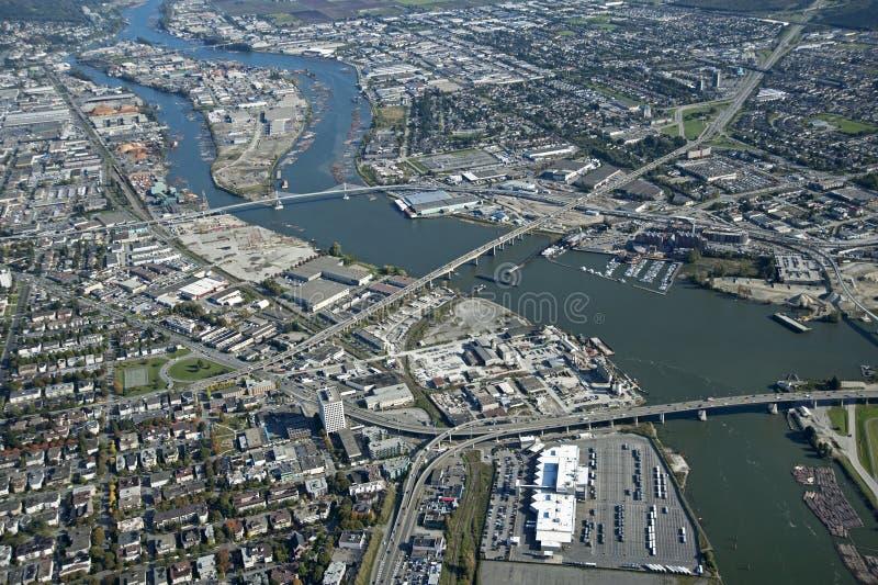 Vancouver e Richmond immagini stock libere da diritti
