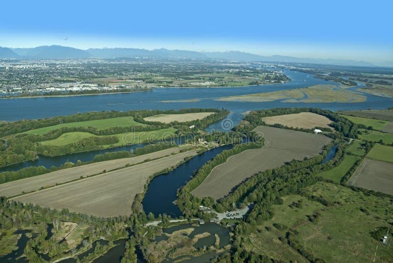 Vancouver en Richmond royalty-vrije stock afbeeldingen