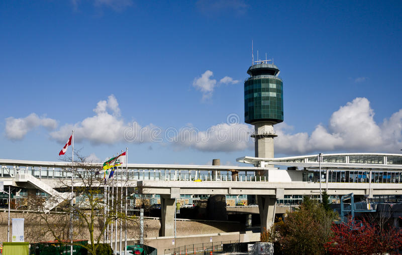 Vancouver-Flughafen stockfoto