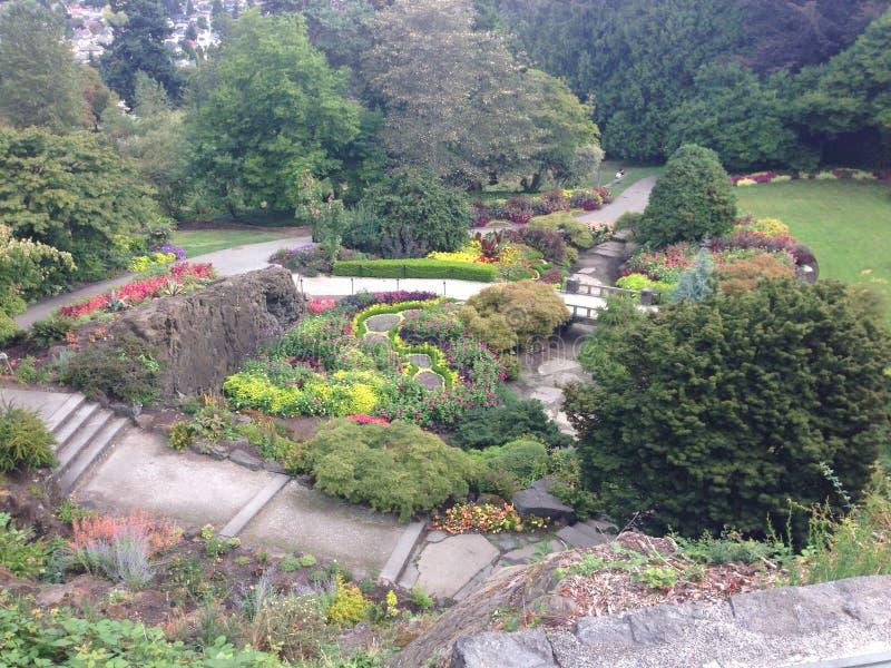 Vancouver-Garten lizenzfreies stockfoto