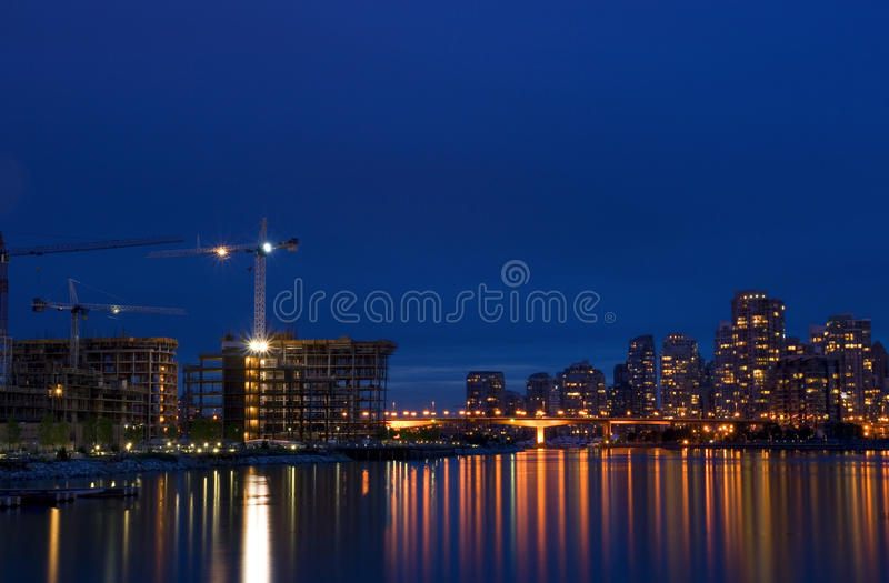 Vancouver Harbor royalty free stock images