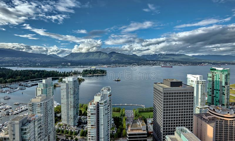 Vancouver Harbour royalty free stock images