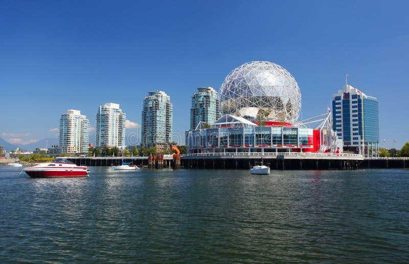 Vancouver i Kanada royaltyfria bilder