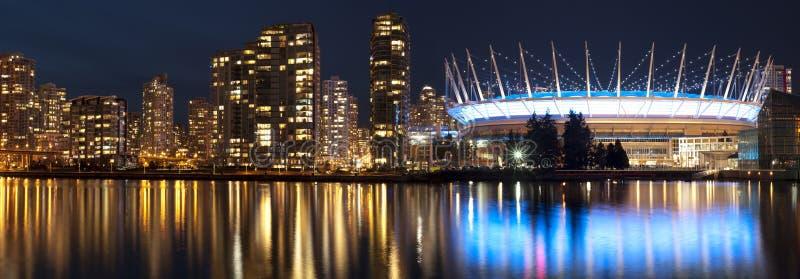Vancouver i miejsca stadium BC fotografia royalty free
