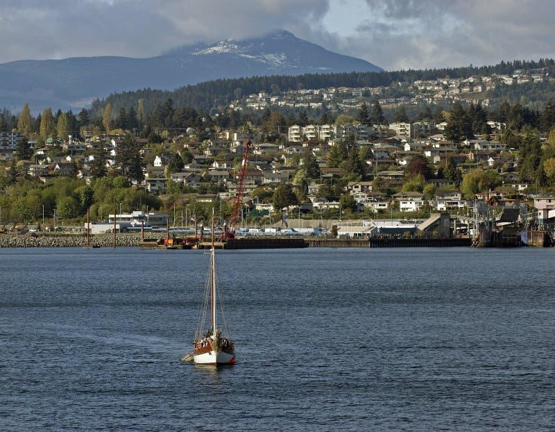 Vancouver Insel und Nanaimo lizenzfreies stockfoto