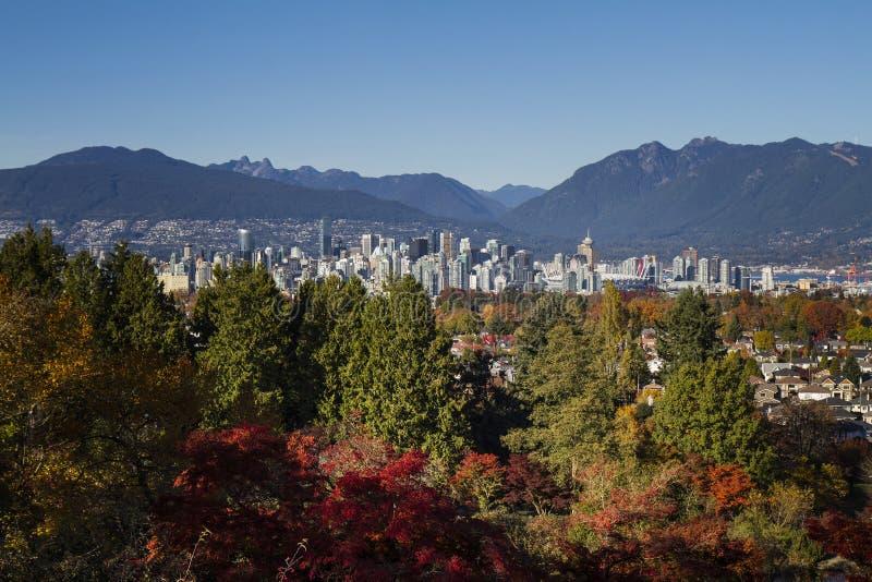 Vancouver jesień obraz royalty free