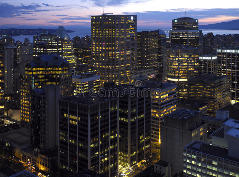 Vancouver - Kanada lizenzfreies stockbild