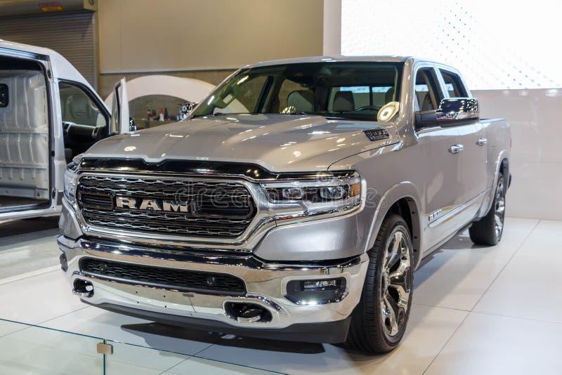Vancouver, Kanada - März 2018: Dodge-Ram Hemi 1500 lizenzfreie stockfotos