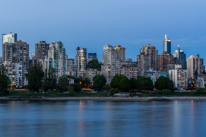 Vancouver Kanada, Maj 21, architektura i budynki w śródmieściu -, 2017, zdjęcie royalty free