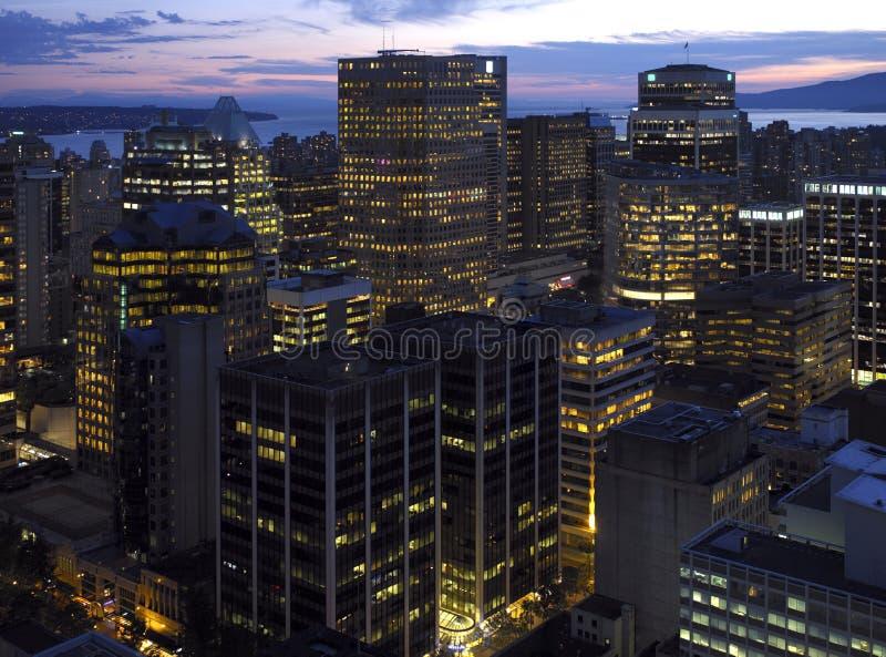 Vancouver - le Canada image libre de droits