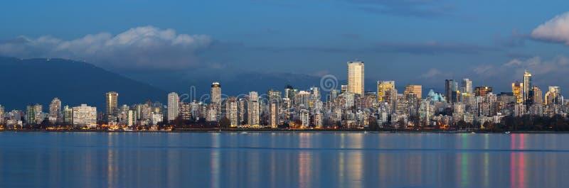 Vancouver Linia horyzontu obraz royalty free