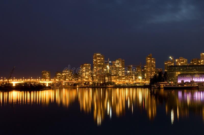 Vancouver moderna immagine stock