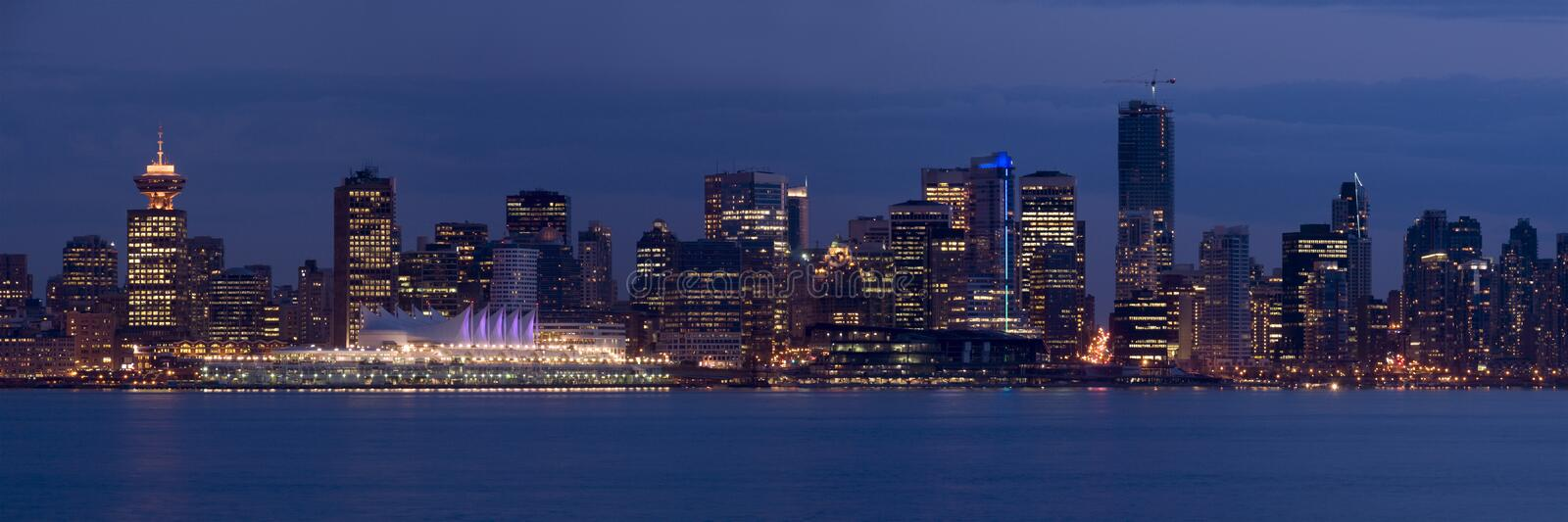 Download Vancouver Panorama stock image. Image of host, lights - 5283393