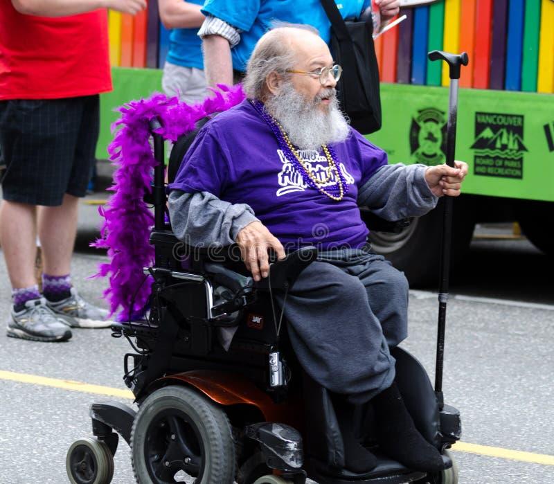 Vancouver 2016 Pride Parade in Vancouver, Kanada stockfotografie