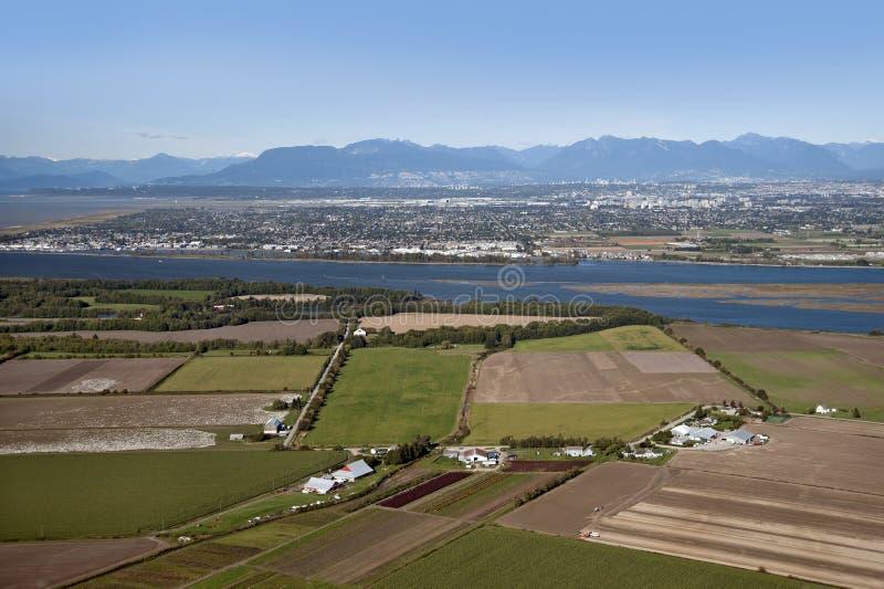 Vancouver, Richmond, isola di Westham fotografia stock libera da diritti
