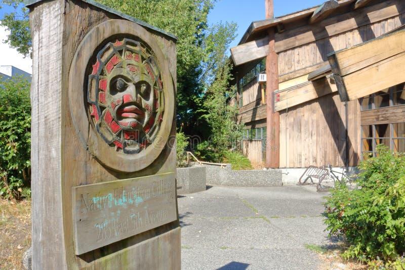 Vancouver ` s edukaci Rodzima szkoła wyższa fotografia royalty free