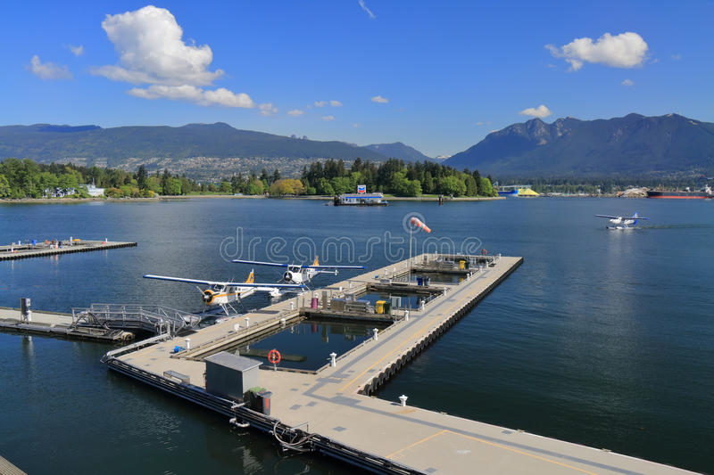 Vancouver schronienia lota Centre obraz stock