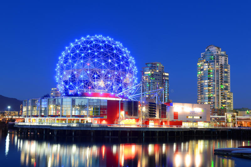 Vancouver Science World, BC, Canada Editorial Stock Image ...